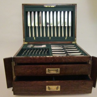 Victorian Sterling silver cutlery set