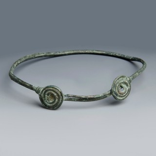 Celtic Bronze Armlet