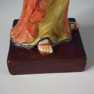 Staffordshire Pearlware Ceres Figure
