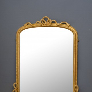Victorian Gilded Overmantel Mirror