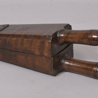 Antique Treen 18th Century Elm Lemon Squeezer