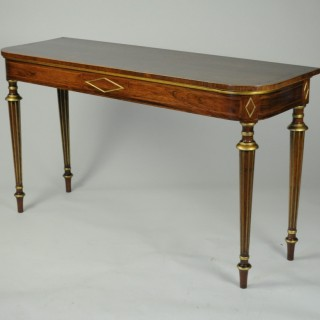 Console/Hall/Side Table in the manner of Henry Holland