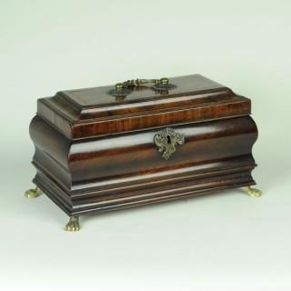 18th century bombé shaped Tea Caddy