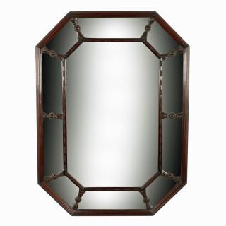 Regency Style Mahogany Wall Mirror