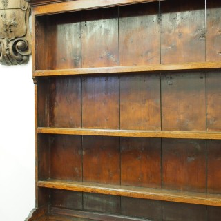 George III Welsh Oak Dresser