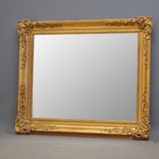 French XIXth Century Gilt Mirror