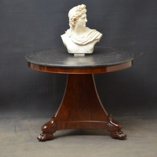 William IV Mahogany Gueridon Table