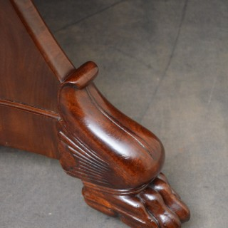 William IV Mahogany Gueridon Table