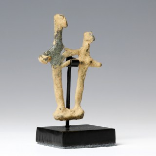 Syro-Hittite Bronze Idol Couple