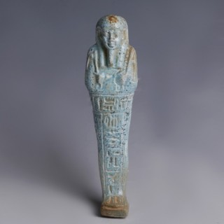 Egyptian Glazed Faience Ushabti