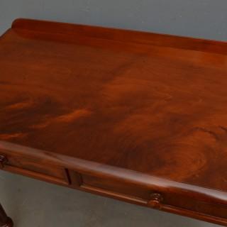 Victorian Mahogany Writing Table
