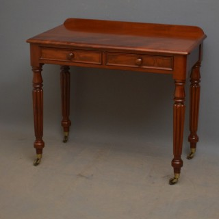 Victorian Mahogany Writing Table
