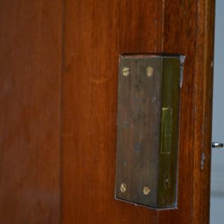 Victorian Mahogany 2 Door Wardrobe