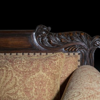 Fine Regency Rosewood Sofa after design by John Taylor