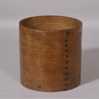 Antique Treen 20th Century Ash Measure