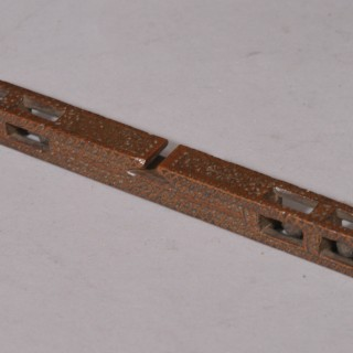 Antique Treen 19th Century Welsh Signed and Dated Mahogany Knitting Sheath