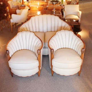Art Deco Three Piece Suite