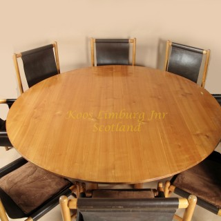 John Makepeace Maple Wood Dining Room Suite