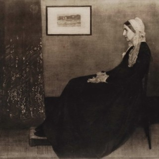 Arrangement in Black and White No.1 - Whistler's Mother
