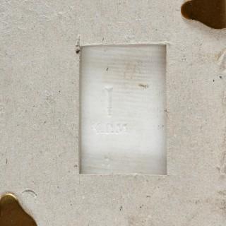 German KPM porcelain plaque after Heinrich Hoffmann