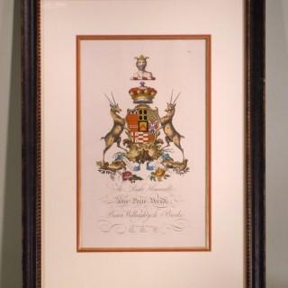 Heraldic Crest Prints by William Segar