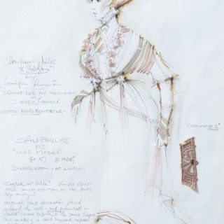 Costume Design for Sian Phillips in How Many Miles to Babylon