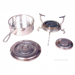 Portable Pan with Heater
