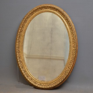 Large XIXth Century Giltwood Wall Mirror