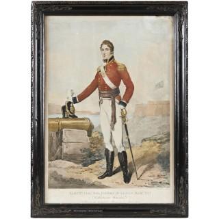 Edridge Portrait of Lieut. Col. Sir Henry Sullivan-Bart MP, Coldstream Guards