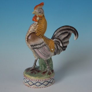Staffordshire Cockerel/Rooster Figure