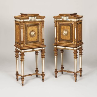 A Pair of Cabinets by Gillows & Company