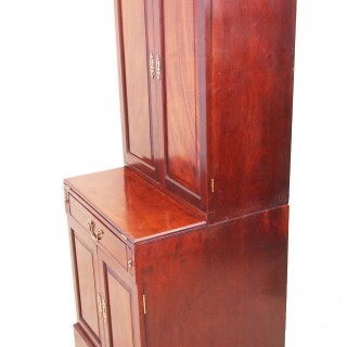 Antique 18th Century Mahogany Bachelors Cupboard