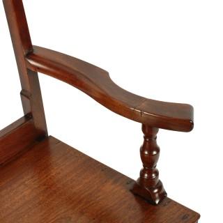 Country Walnut Rocking Chair