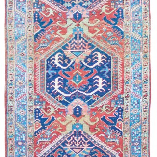 Antique Heriz runner
