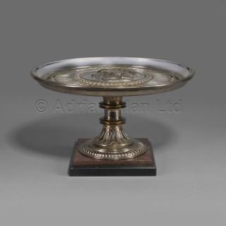 A Fine Neo-Grec Gilt and Silvered Bronze Tazza