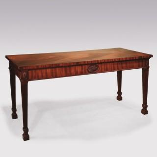 Mid 18th Century Adam period mahogany Serving Table