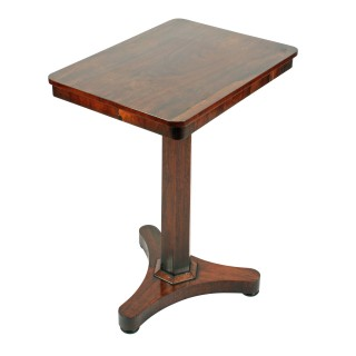 19th Century Rosewood Lamp Table