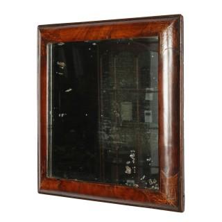 Late 17th Century Walnut Mirror