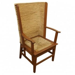 Adult Oak Orkney Chair by Kirkness of Kirkwall