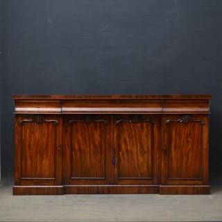 Early Victorian Mahogany 4 Door Sideboard
