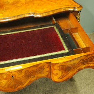 Victorian French Bonheur du Jour by Robert Strachan and Co
