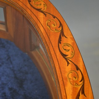 Edwardian Heart Shaped Satinwood Bijouterie Table