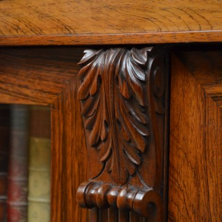 Exhibition quality George IV Rosewood Bookcase