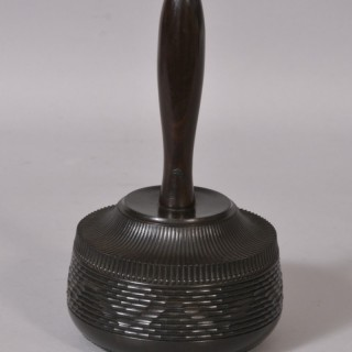 Antique Treen 19th Century Ebony Mallet