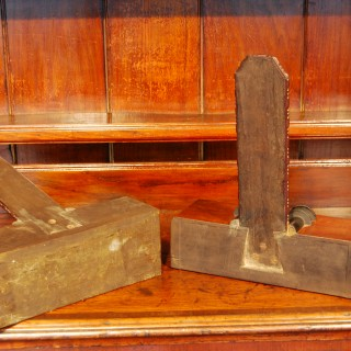A rare and fine PAIR of Regency period Mahogany Salver Stands