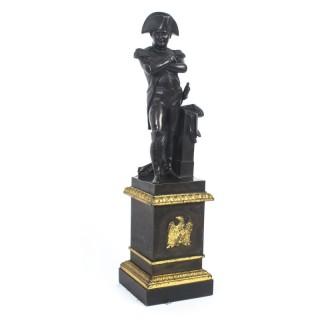 Antique Library Bronze of Napoleon Bonaparte 19th Century