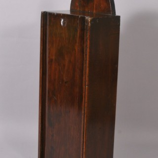 Antique 19th Century Pine Candle Box