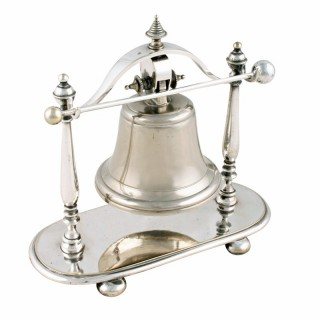 Victorian Silver Plated Table Bell