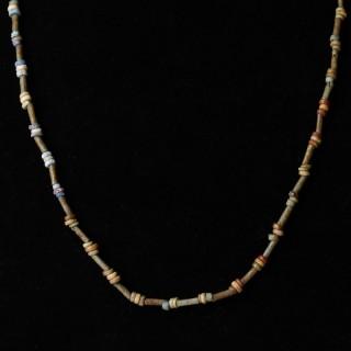 Egyptian New Kingdom Faience Bead Necklace