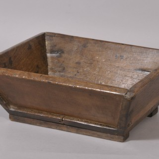 Antique Treen 19th Century Oak Bread Tray